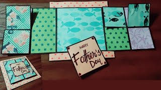 flip and fold card tutorial\handmade birthday cards\diy greeting cards
