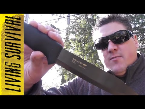 Pathfinder vs. Bushcraft Black Mora Knives | Living Survival