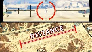 GTA V - Whats the Sniper maximum range?