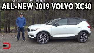 Here's the 2019 Volvo XC40 AWD R-Design on Everyman Driver