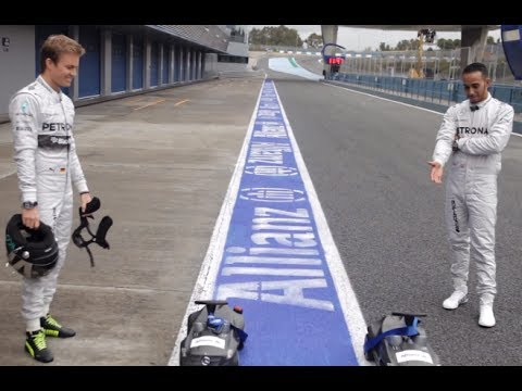 Lewis Hamilton Vs Nico Rosberg Feud 2014 Funny Commercial CARJAM TV 2014