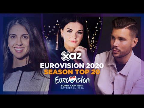 Eurovision 2020 Season - Top 20
