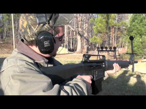 Akdal MKA 1919 AR-15 Style 12 Gauge Shotgun Shooting