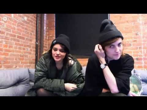 Sky Ferreira G+ Hangout on Air Q&A - Amoeba Takeover