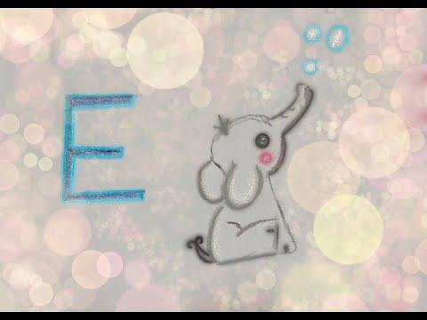 E wie Elefant Kimmy malt mit dir das Tier ABC- Kimmy's Kinderkanal