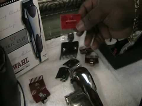 Andis Master & The Wahl Magic Clip Hair Clippers