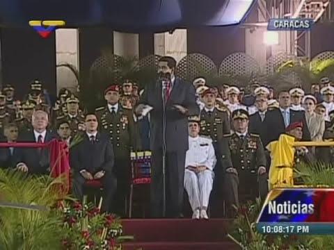 Acto completo de Graduación de Oficiales Técnicos en la Academia Militar de Venezuela