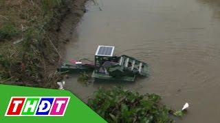 THDT - Thế giới số - Máy vớt cá, vớt rác trên sông