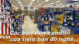 Vlog33A. Các bạn nên xem,cửa tiệm bán đồ nghề...   Phần 1