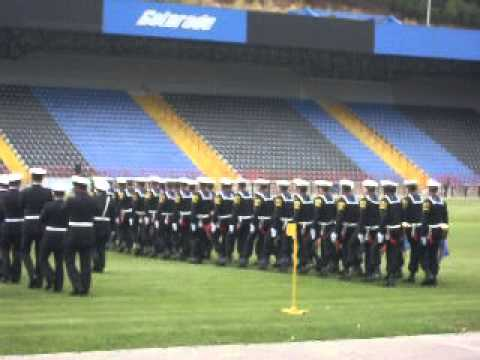 desfile de honor ceremonia de egreso esgrum 2012