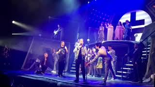 Take That live on stage at The Band The Musical