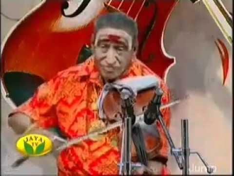 Kunnakudi Vaidyanathan - shaNmukhapriya -muthai tharu bhakti...
