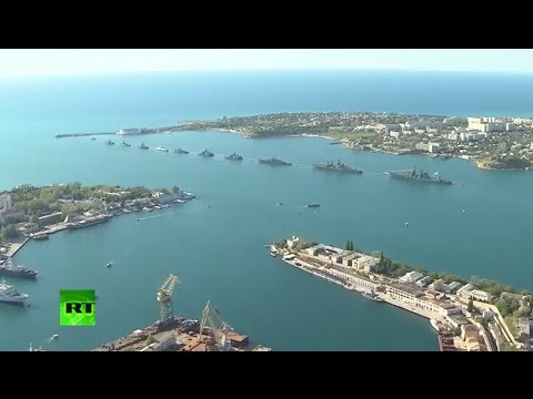 Sevastopol is celebrating the 69th anniversary of the victory in the Great Patriotic War with a parade by the Black Sea Fleet and Air Force. It's the first m...