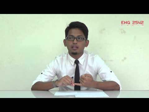 MUET Speaking Practice: Individual Presentation #Topic 6: Candidate D
