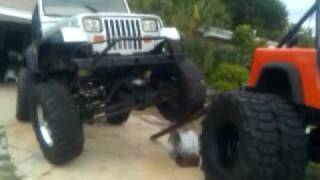 ramping a wrangler yj i am building
