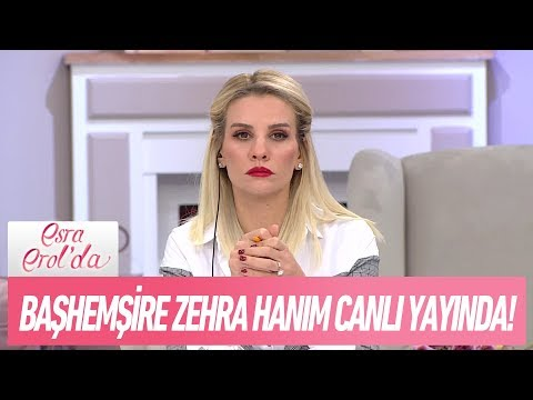 Başhemişre Zehra hanım canlı yayında! - Esra Erol'da 30 Kasım 2017
