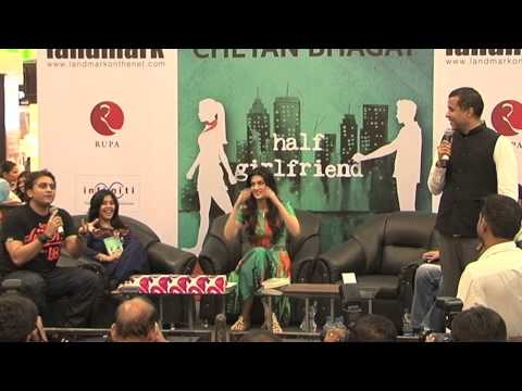 Grand launch of Chetan Bhagat Novel Half Girlfriend