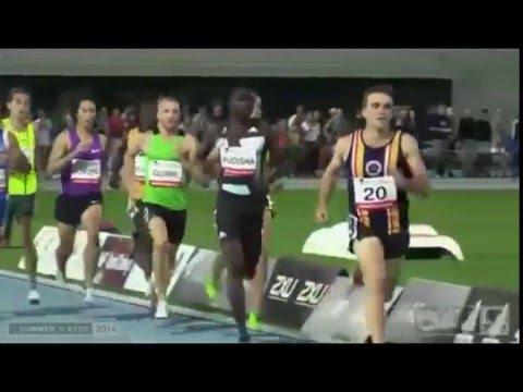 David Rudisha Wins Men's 800m at IAAF Melbourne World Challenge 2016