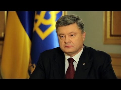 Poroshenko: 'Russia will not blackmail Ukraine'