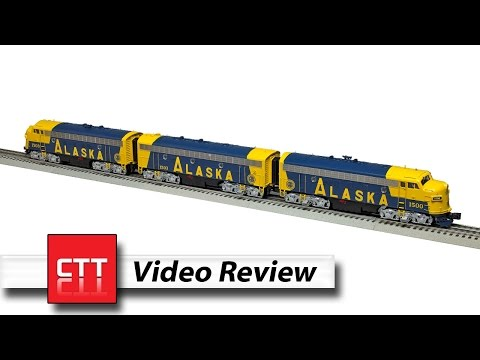 MTH O gauge Premier line F7 A-B-A set   a Classic Toy Trains review
