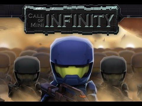 Call of Mini Infinity - стреляем в друг друга   на Android ( Review)
