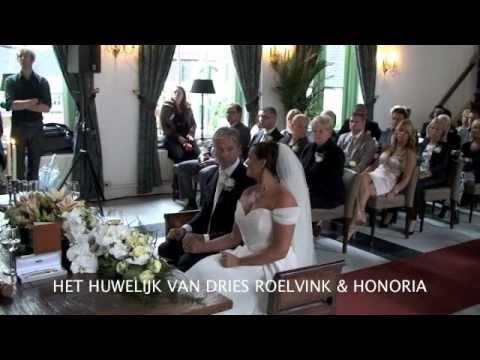 HET HUWELIJK VAN DRIES ROELVINK & HONORIA - YouTube