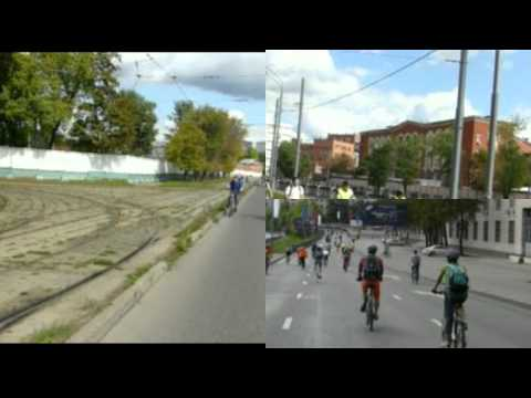 Московский Велопарад WowMoscow в День города!