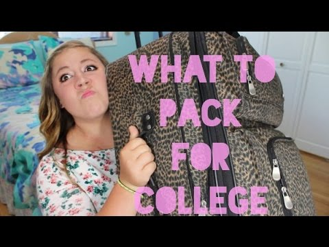 What To (and NOT To) Bring to College! | College Survival Guide