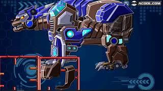 trò chơi trẻ em- siêu nhân điện quang- lắp ghép robot p4