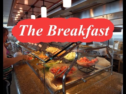 Exploring BREAKFAST 'Royal Caribbean Cruise Line (HD)