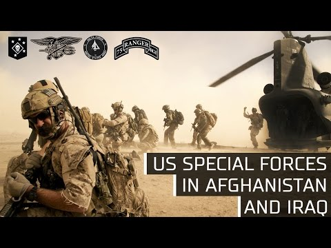 US Special forces in Afghanistan and Iraq