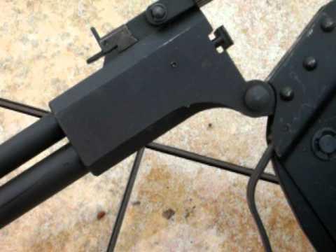 M6 Scout Survival Rifle .22 and .410 over under arrangement !