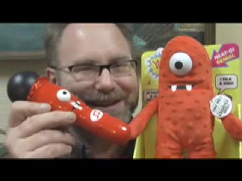 FAIL TOY ONE EYED MONSTER  Rude? Funny Video Toy Review Mike Mozart of JeepersMedia on You Tube