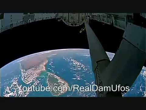 Imágenes OVNI captadas desde la Estación Espacial Internacional en 2013