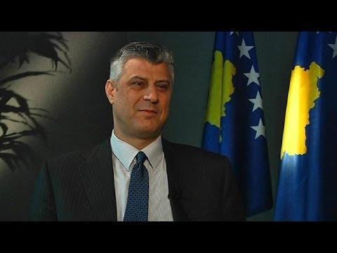 Hashim Thaci Kosovo Hashim Thaci a Euronews il