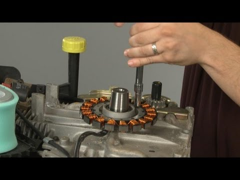 Lawn Mower Stator Replacement Kohler Small Engine Repair