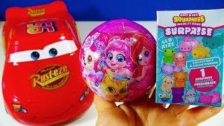 Disney Cars Soft'N Slo Squishies Shopkins Mini Packs Dinner Box Zuru 5 Surprise Ball  PJ Masks