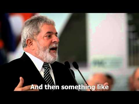 Brazilian President Lula speaks out in defence of Wikileaks: English subtitles