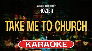 Download Lagu Take Me To Church | Karaoke Version in the style of Hozier Gratis STAFABAND