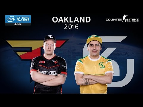 CS:GO - FaZe vs. SK [Nuke]  - Group B - IEM Oakland 2016