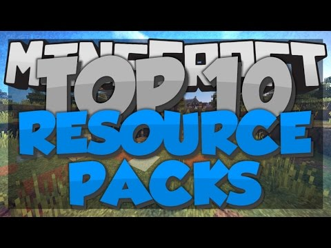Top 10 Minecraft Resource Packs - Minecraft 1.8 - 2015 [HD]