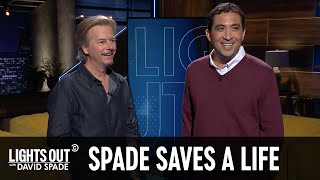 David Spade Helped Bobby Miyamoto Survive a Stroke - Lights Out with David Spade