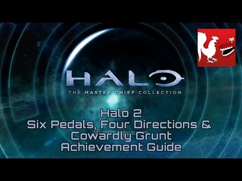 Halo: MCC [Halo 2] - Six Pedals, Four Directions & Cowardly Grunt Guides