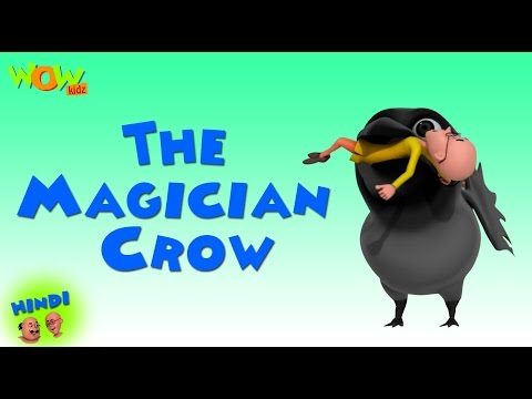 The Magician Crow- Motu Patlu in Hindi WITH ENGLISH, SPANISH & FRENCH SUBTITLES thumbnail