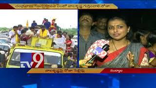 Roja satirical comments on Balakrishna