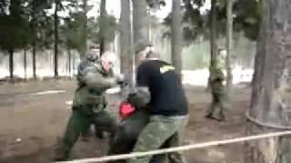 Russian Army Training - Part of Final Fighting Endurance Exam for Special Forces