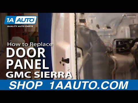 How To Install Remove Rear Door Panel Silverado Sierra Crew Cab 99-02 1AAuto.com