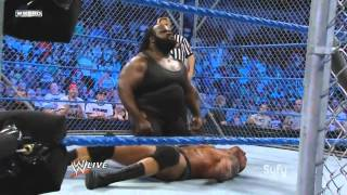 WWE - RKO and Mark Henry attack Orton 30 Aug [720p HD]