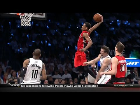 Raptors 2014 PLAYOFFS: R1G6 vs. Nets