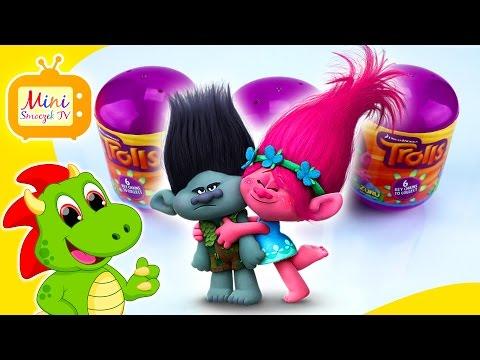 Trolle Są SUPER! Zobaczcie Mini Figurki Z Bajki Pt.Trolle - Świetne Zabawki Dla Dzieci I Nie Tylko!